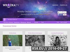 Miniaturka domeny wrozka.tv