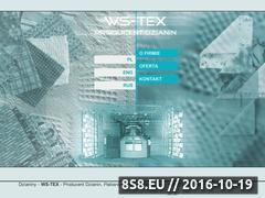 Miniaturka domeny www.ws-tex.com.pl
