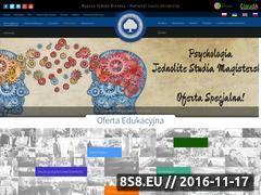 Miniaturka domeny www.wsb-nlu.edu.pl