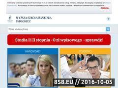 Miniaturka Studia Bydgoszcz - Wyższa Szkoła Bankowa  (www.wsb.bydgoszcz.pl)