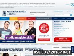 Miniaturka domeny www.wsb.gda.pl