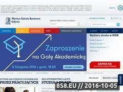 Miniaturka domeny www.wsb.gdynia.pl