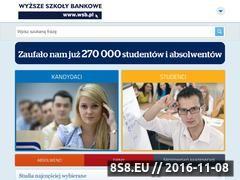 Miniaturka domeny www.wsb.pl