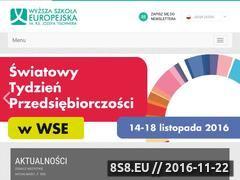 Miniaturka domeny www.wse.krakow.pl