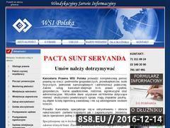 Miniaturka domeny www.wsipolska.com.pl