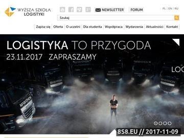 Zrzut strony Uczelnia w Poznaniu
