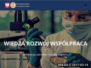 Zrzut strony Uczelnia medyczna w Białymstoku przyjazna studentom