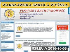 Miniaturka domeny www.wspins.edu.pl