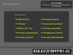 Miniaturka domeny wspolnadroga.eu