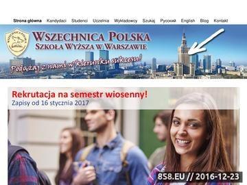 Zrzut strony Studia licencjackie, studia magisterskie oraz studia podyplomowe