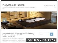Miniaturka domeny www.wszystkodolazienki.eu