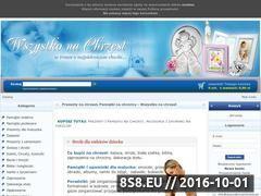 Miniaturka domeny www.wszystkonachrzest.pl