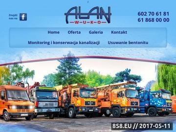 Zrzut strony Firma Wuko Poznań
