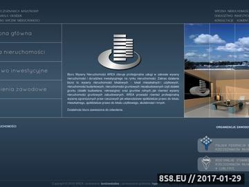 Zrzut strony AREA - Wycena nieruchomości Lublin