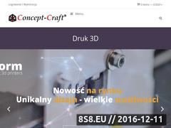 Miniaturka domeny www.wydruki3ddlakazdego.pl