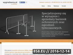 Miniaturka domeny www.wygradzamy.pl