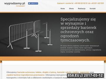 Zrzut strony Barierki zaporowe