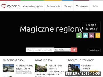 Zrzut strony Zwiedzaj Polskę
