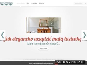 Zrzut strony Wykończenia domu Wykonczeniowka.com