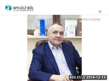 Zrzut strony Wojciech Nierodziński - leczenie bólu głowy Białystok
