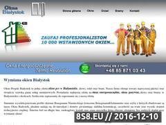 Miniaturka domeny www.wymianaokien.bialystok.pl