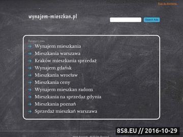 Zrzut strony Mieszkania do wynajęcia Katowice