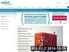Miniaturka domeny www.wynajem-pomp.pl