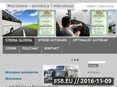Miniaturka domeny www.wynajem-warszawa.info