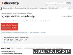 Miniaturka domeny wynajemautdostawczych.net.pl
