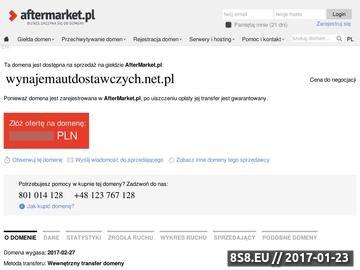 Zrzut strony 4Kółka - wypożyczalnie aut dostawczych Warszawa