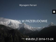Miniaturka domeny wynajemferrari.pl