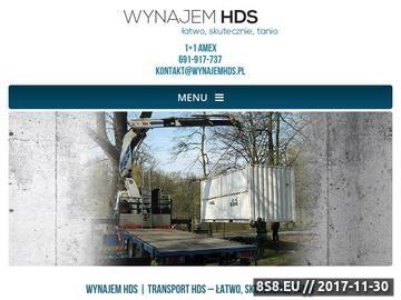 Zrzut strony HDS Katowice