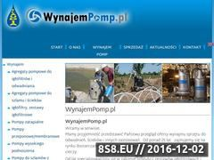 Miniaturka domeny wynajempomp.pl