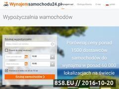 Miniaturka domeny www.wynajemsamochodu24.pl