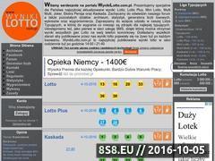 Miniaturka domeny wynikilotto.com.pl