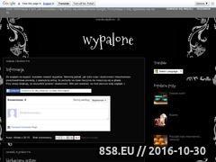 Miniaturka domeny wypalone.blogspot.com