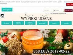 Miniaturka domeny www.wypiekiudane.pl
