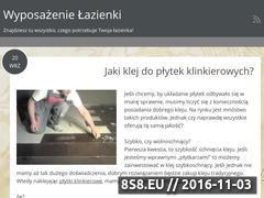 Miniaturka domeny www.wyposazenielazienki.com.pl