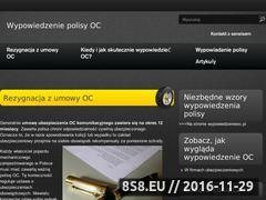 Miniaturka domeny wypowiedzeniepolisyoc.pl
