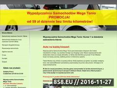 Miniaturka domeny www.wypozyczalnia-aut24.pl