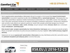 Miniaturka domeny wypozyczalnia-samochodow.warszawa.pl