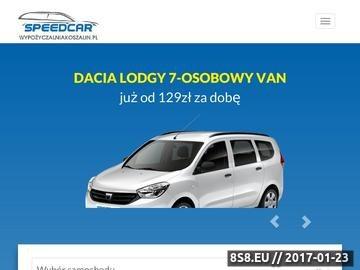 Zrzut strony Wypożyczalnia samochodów Koszalin
