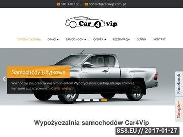 Zrzut strony Wypożyczalnia samochodów w Warszawie