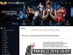 Miniaturka domeny www.wypozyczalniestrojow.pl