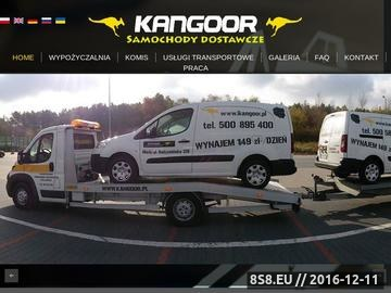 Zrzut strony Wypozyczalnia samochodow dostawczych Warszawa