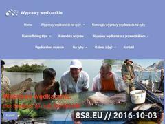 Miniaturka domeny www.wyprawawedkarska.pl
