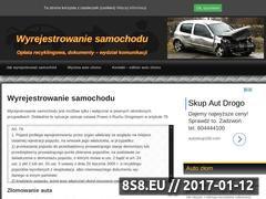 Miniaturka domeny wyrejestrowanie-samochodu.pl