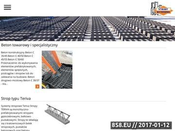 Zrzut strony Prod. Beton towarowy, strop teriva, płyty kanałowe żerań - Ryszard Szczepański