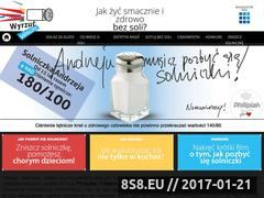 Miniaturka domeny www.wyrzucsolniczke.pl