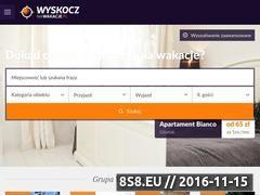 Miniaturka domeny www.wyskocznawakacje.pl